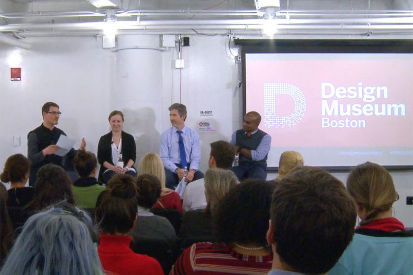 Boston Design Museum - Data Visualization Panel