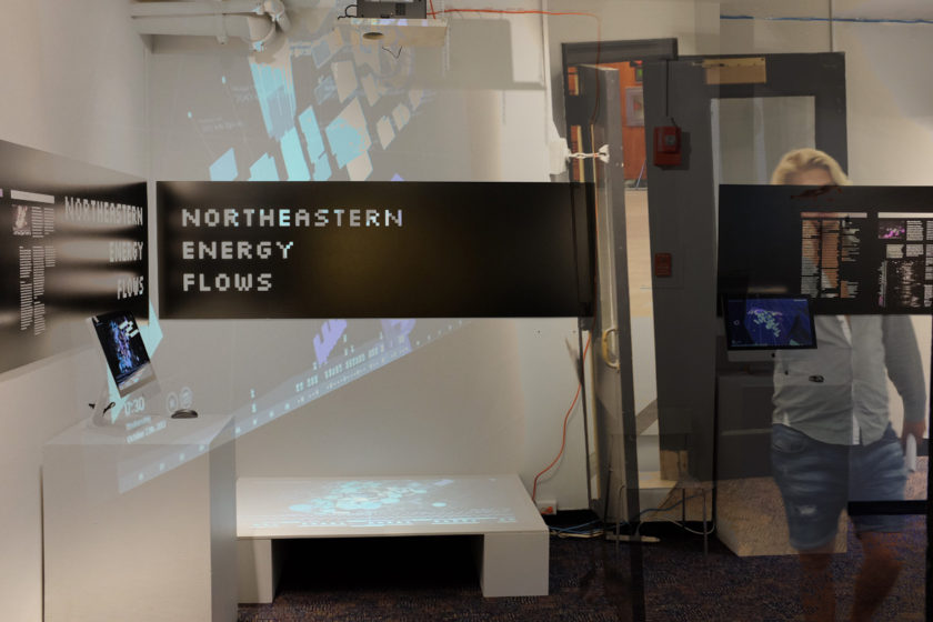 Exhibition: Northeastern Energy Flows at Gallery 360, Boston
