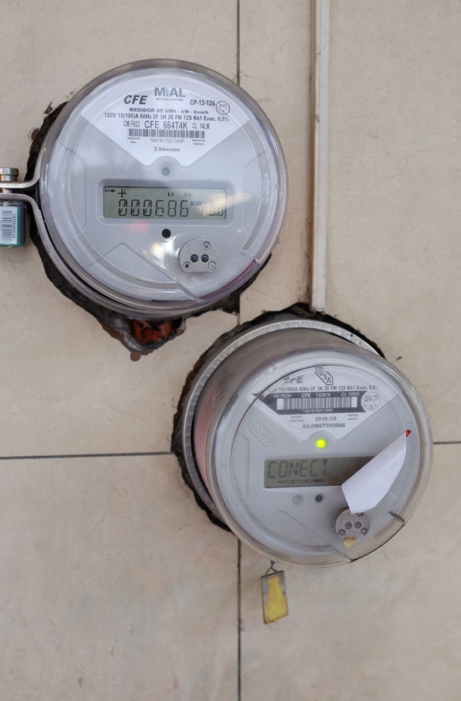 Smart Meters deployed in Guadalajara, Mexico.